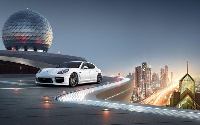 Take the lead with Porsche Panamera