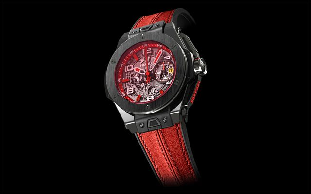 Face To Watch: Hublot Big Bang Ferrari Singapore Limited Edition