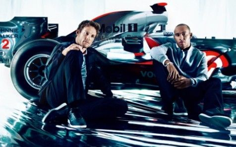 Dress a Formula One Driver with Hugo Boss and McLaren