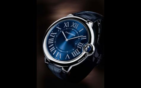 Face to Watch: Cartier Extra-Flat Ballon Bleu De Cartier