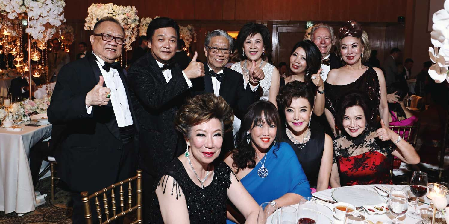 600 guests attended the union of Carmen Ow and Bryan Tan, held at The Ritz-Carlton, Millenia Singapore