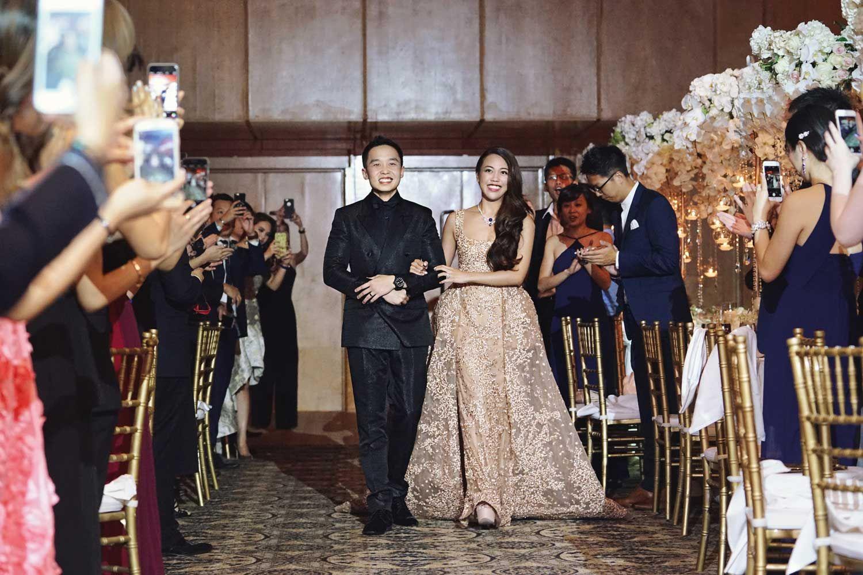 Bryan Tan  and Carmen Ow