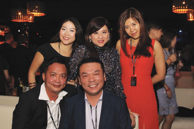 Eling Mao, Ann Goh, Jenny Jiang, Derek Oh, Dic Ng