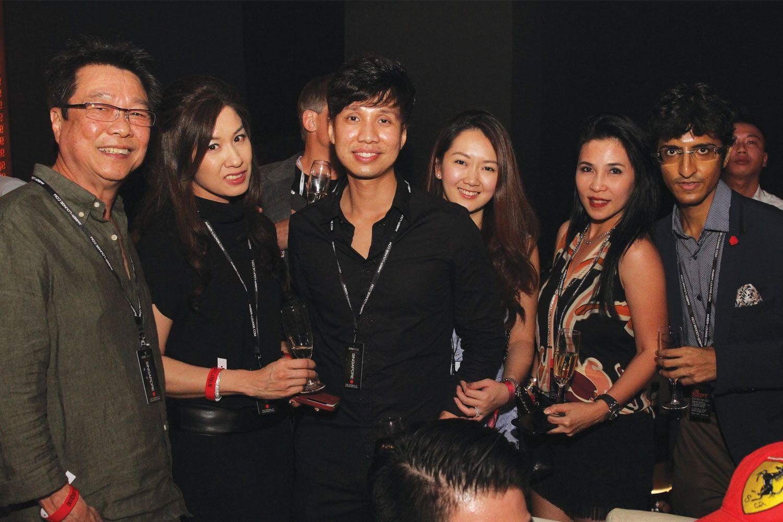 Melvin Goh, Selina Tan, Shawn Low & Marilyn, Fanty Soenardy, Karan Tilani