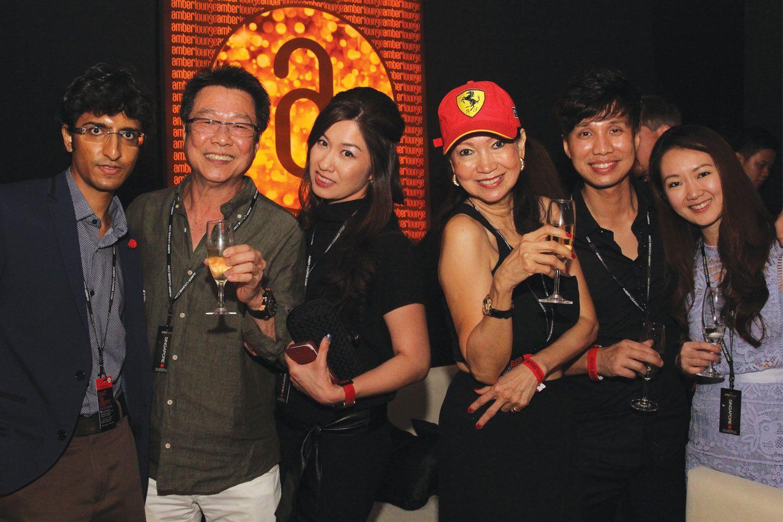 Karan Tilani, Melvin Goh, Selina Tan, Celeste Basapa, Shawn Low & Marilyn