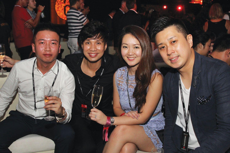 Chen Jun, Shawn Low & Marilyn, James Ting