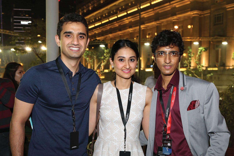 Aditya Talwar, Rashi Talwar, Karan Tilani