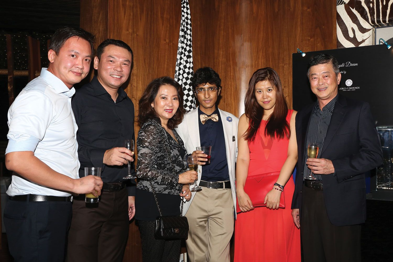 Derek Oh, Dic Ng, Joyce Ang, Karan Tilani, Jenny Jiang, George Tan