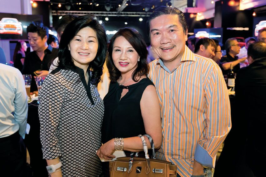 Patricia Kwee with Maria and Jaacky See