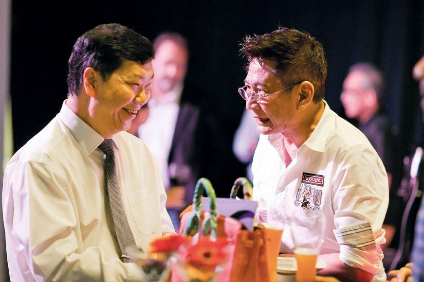 Francis Lee  and Alvin Khoo