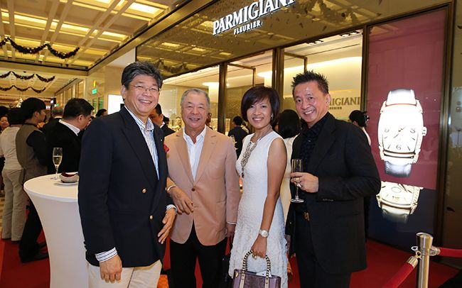 Peter Chong, Henry Tay, Ainie Amin, Yow Tian Bey