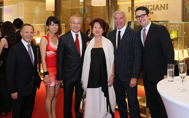 Theodore Panos, Wong Mei Ling, Kenny Chan, Jannie Chan, Jean-Marc Jacot, Marco Cito