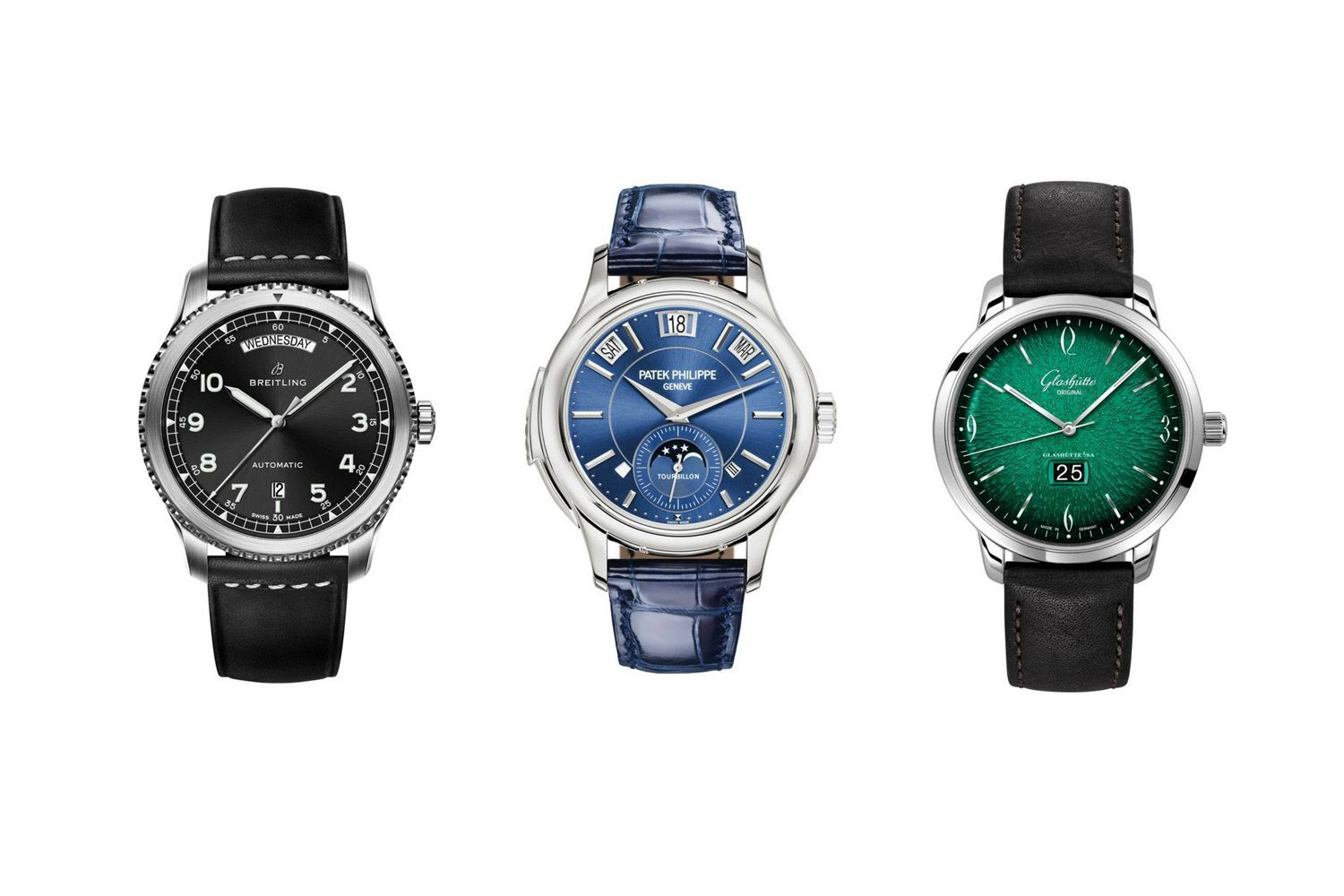 12 Luxury Watches With Date Functions