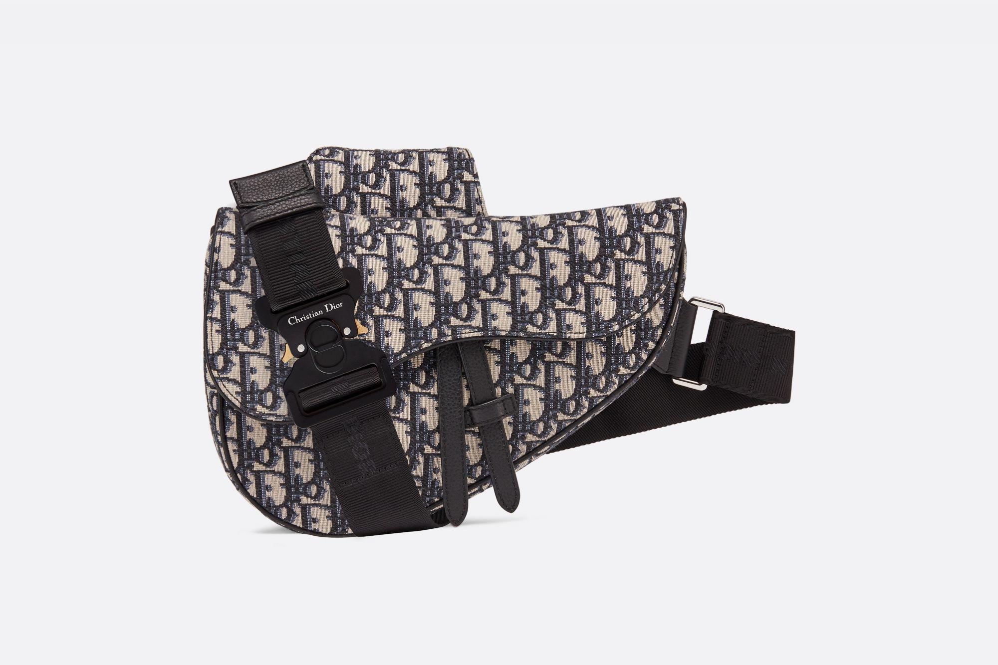 Saddle bag in Dior Oblique canvas