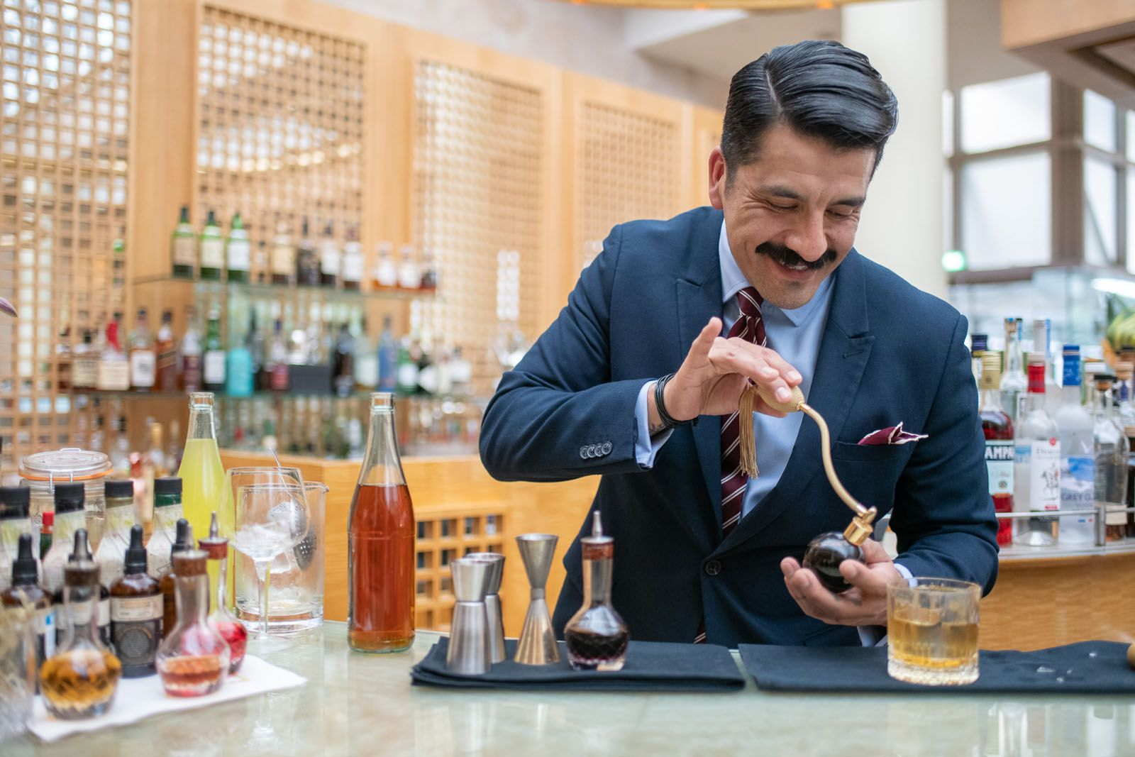 Happy Hour With… Mixologist Oscar E. Mena Of Ozone At The Ritz-Carlton, Hong Kong