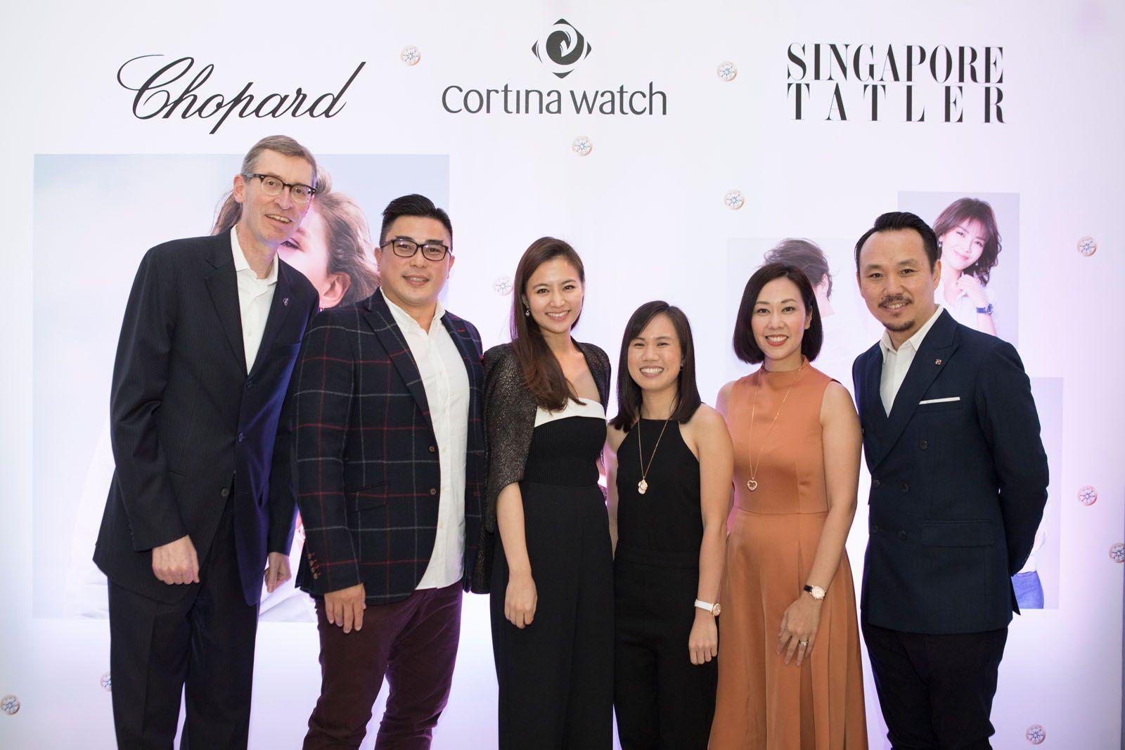 Stephan Ritzmann, Marcus Ang, Cheryl Wee, Debra Lam, Kissa Castañeda, Luke Ng