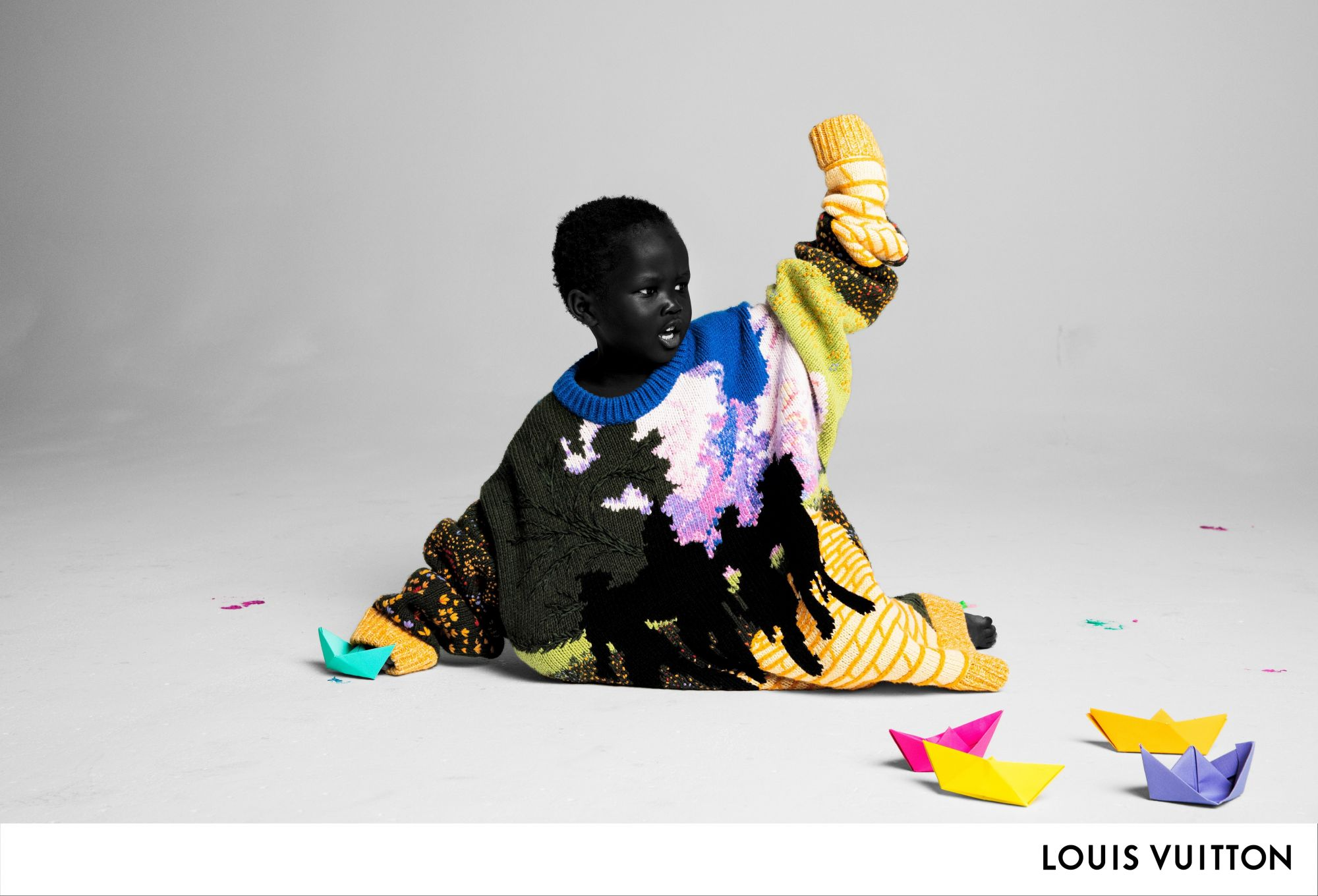 Virgil Abloh's First Campaign For Louis Vuitton Has The Cutest Models