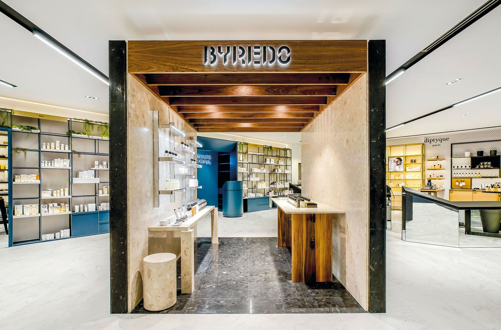 Luxasia's Escentials is known for selling niche beauty brands such as Byredo, and its e-commerce site mirrors the aesthetic of its retail stores