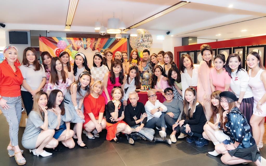 Chermaine Pang's Sixties-Themed Birthday Party
