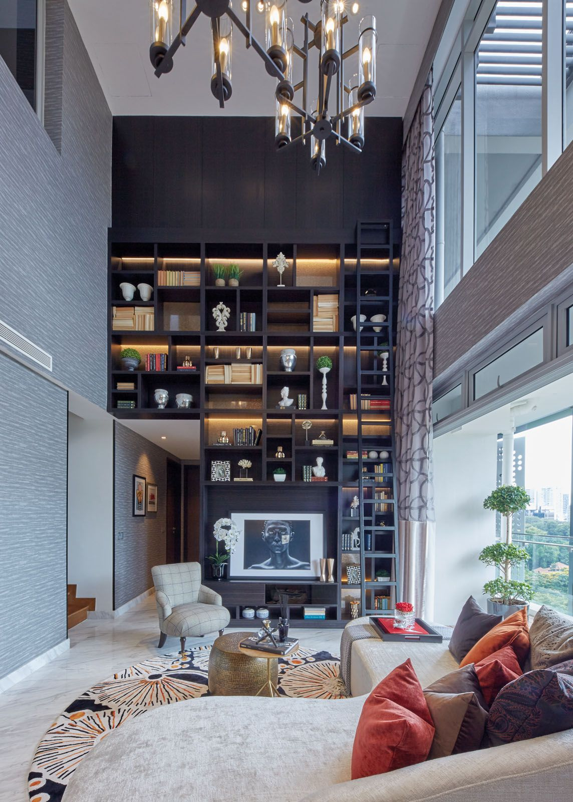 Home Tour: A Modern Penthouse With Brilliant Balconies