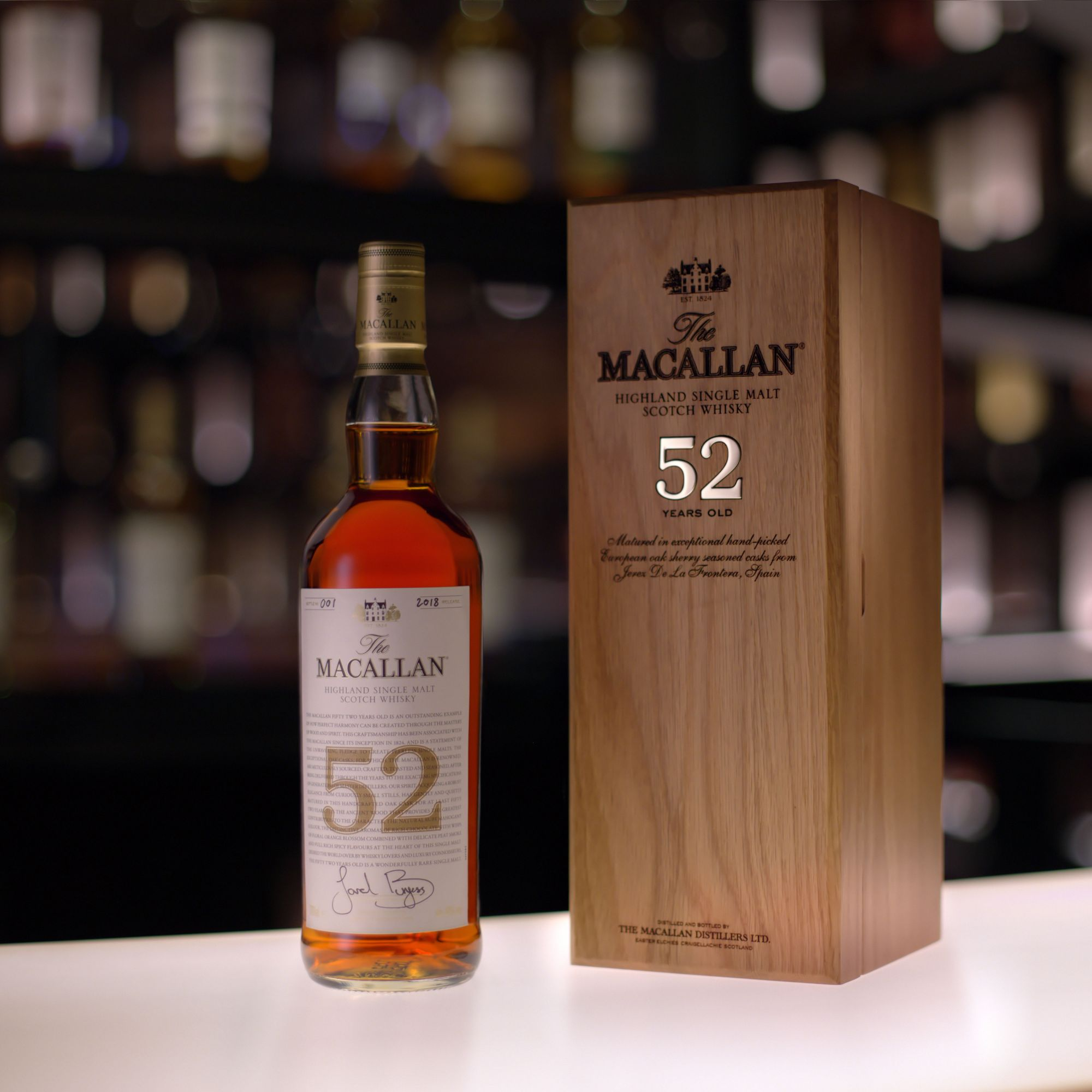 The Macallan Releases 52-Year-Old Whisky