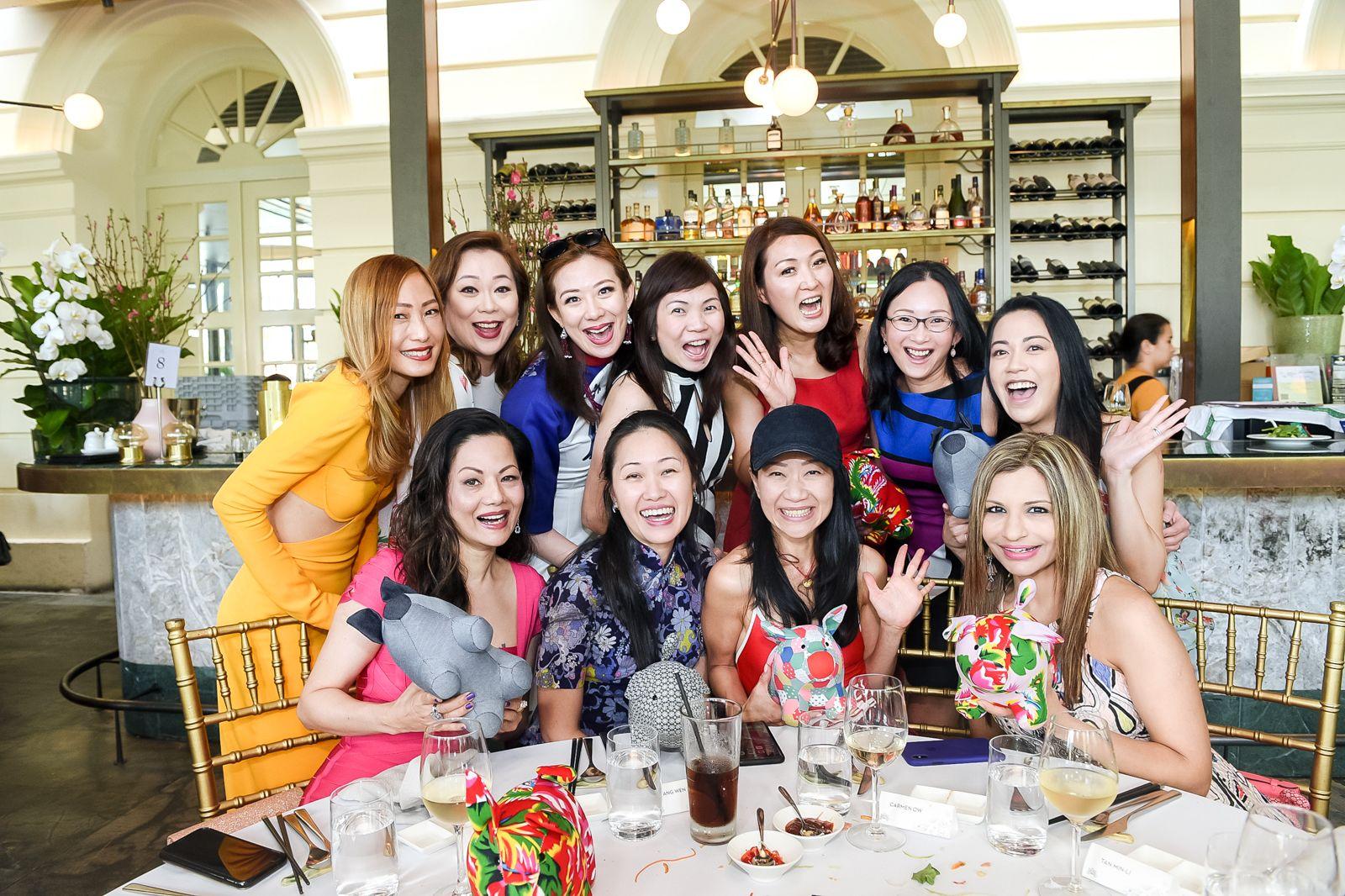 Tan Min-Li, Cheryl Lee, Stephanie Lee, Shirley Crystal Chua, Nana Au-Chua, Caroline Low-Heah, Carmen Ow, Suguna Madhaven, Tang Wen Li, Dana Cheong, Rasina Rubin