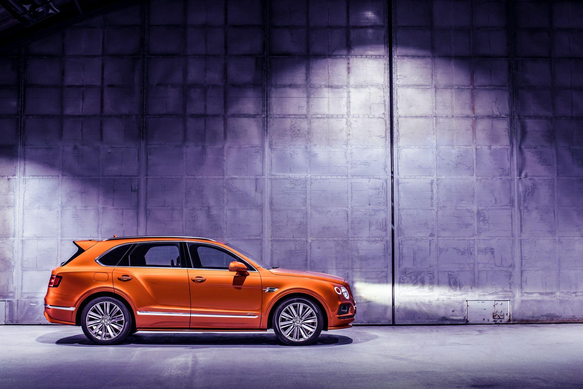 "Bentley's Bentayga Speed Is ""World's Fastest SUV"""