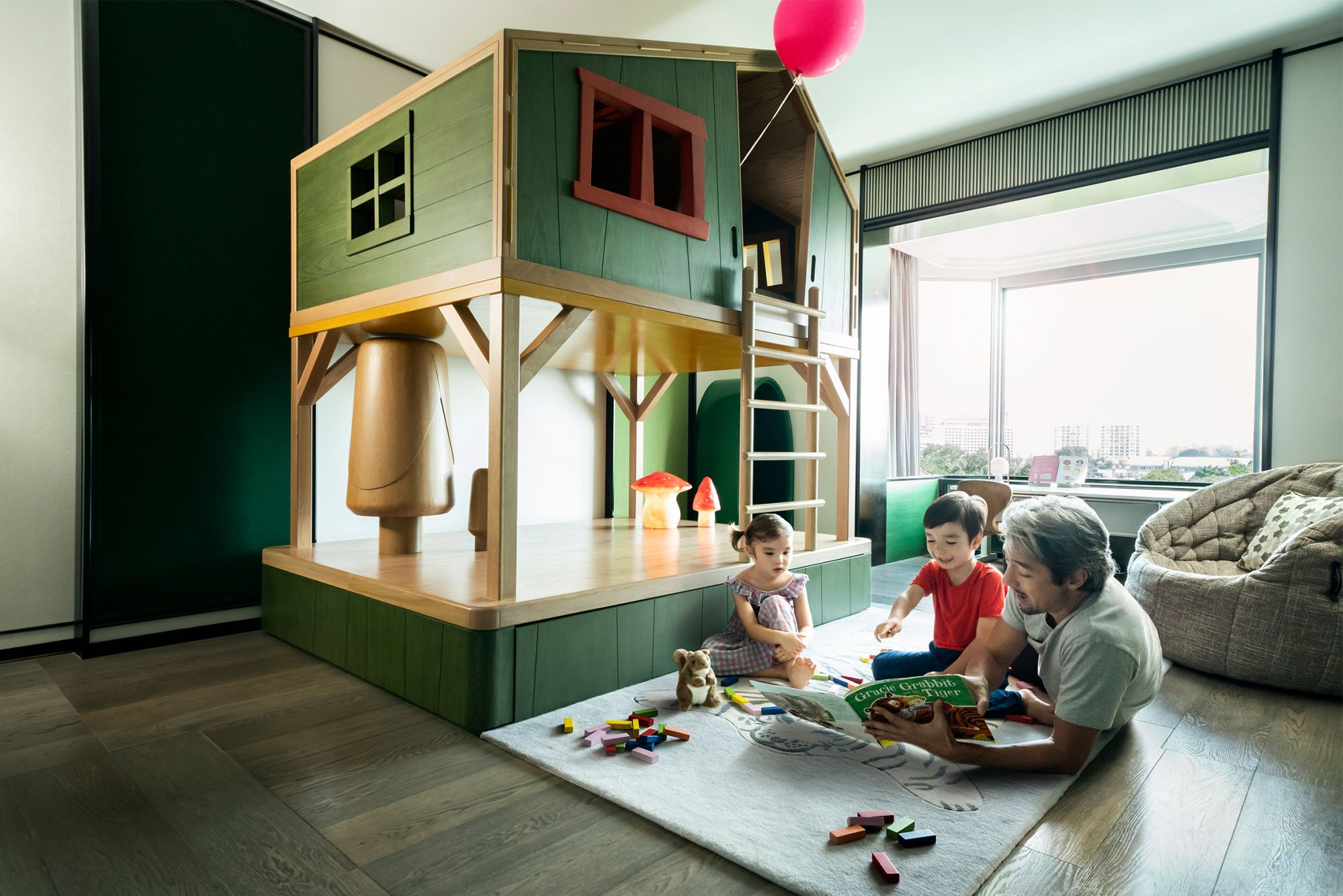 Shangri-La's Themed Family Suites - Treehouse