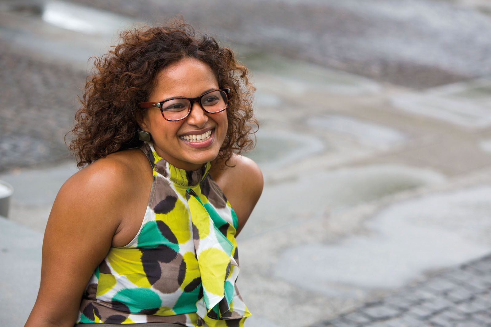 Ramya Ragupathi founded Oh My Goodness!, with a mission to make gluten-, dairy- and refined sugar-free food