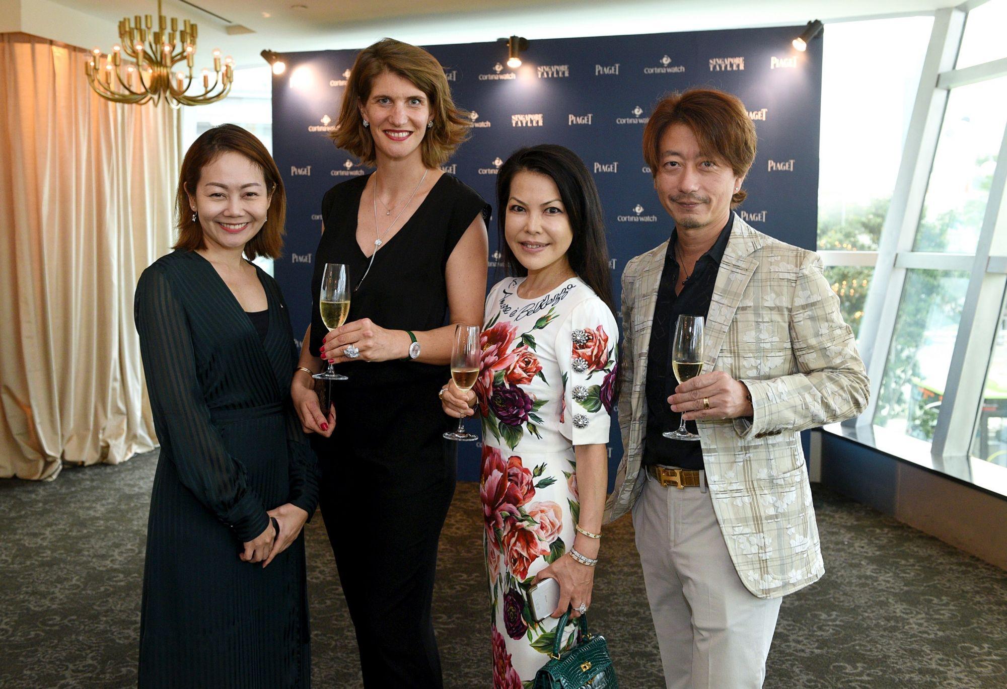 Zeyro Tan, Petronille de Parseval, Kyoko Abe, Kimihisa Abe