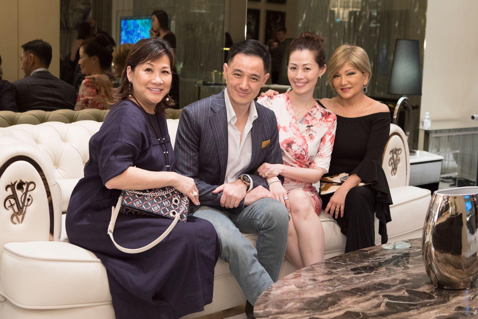 Pauline Chan, Benjamin Kim, Serene Tan, Audrey Mico
