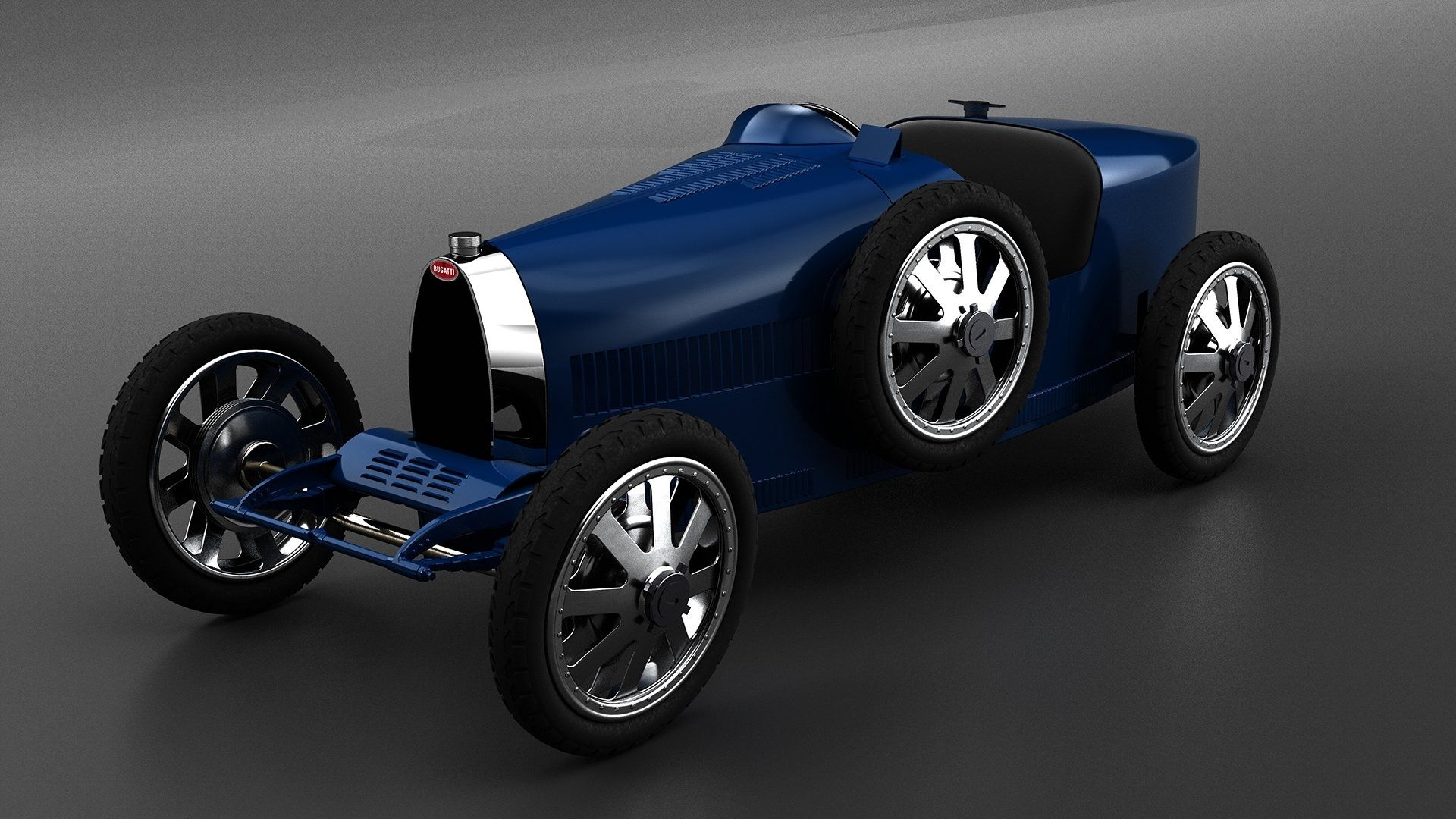 Bugatti Introduces A 'Baby' Electric Car For Kids