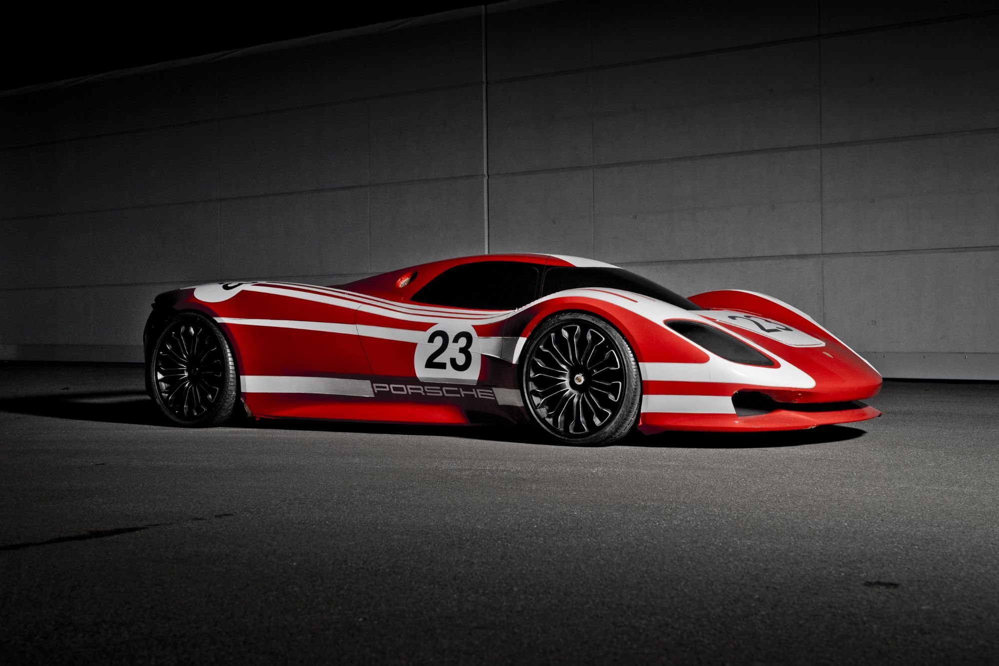 The Porsche 917 concept study will go on show at the Porsche Museum in Stuttgart, Germany