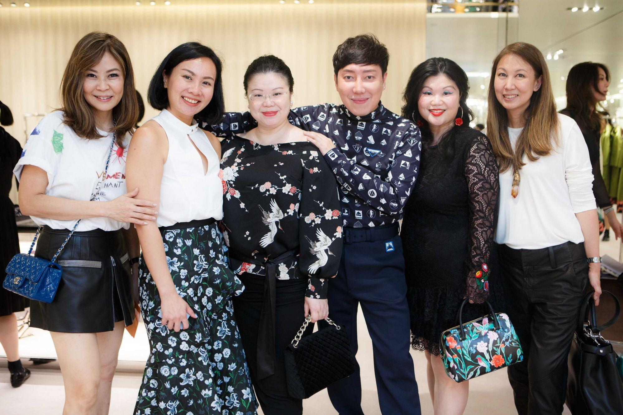 Alicia Thian, Karen Ang, Lam Min Yee, Desmond Lim, Lam Tse Yi, June Rin