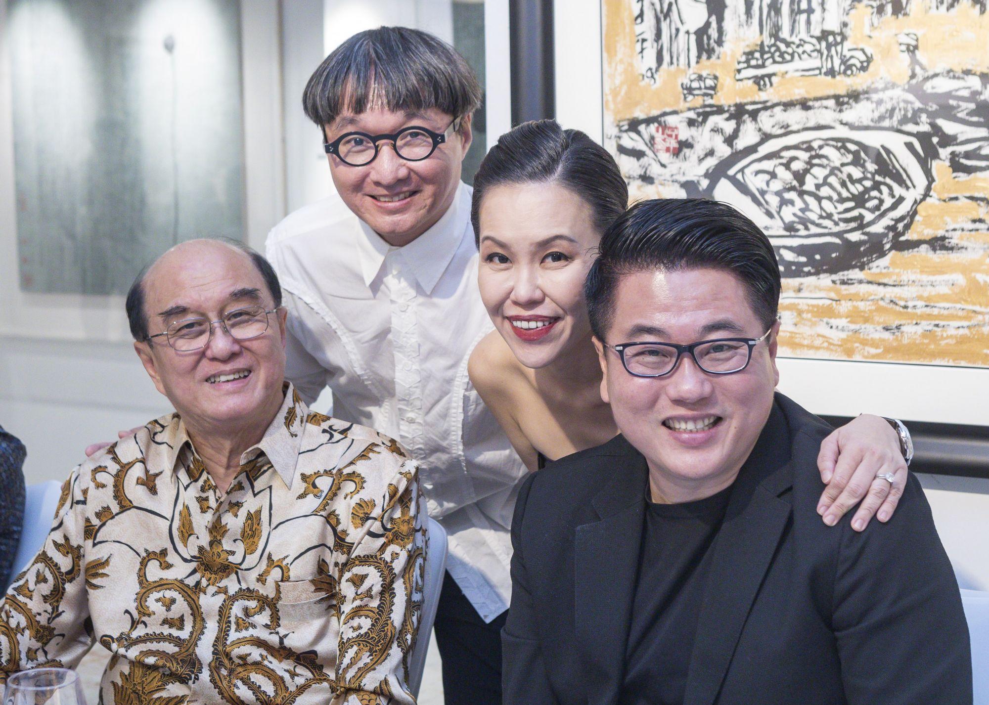 Karsono Kwee, Edmund Ng, Jazz Chong, Ron Tan
