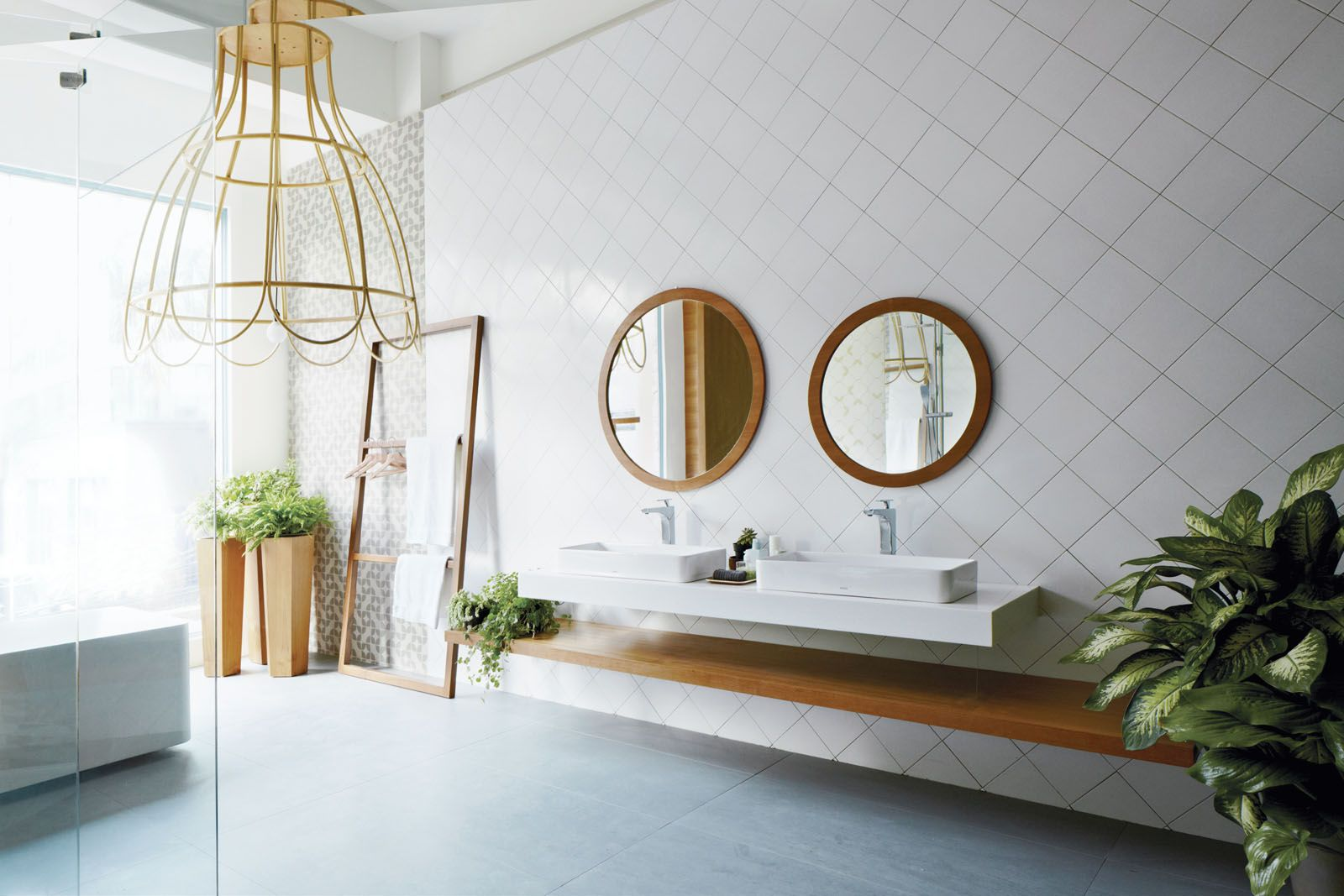 The Toja bathroom collection from Toto