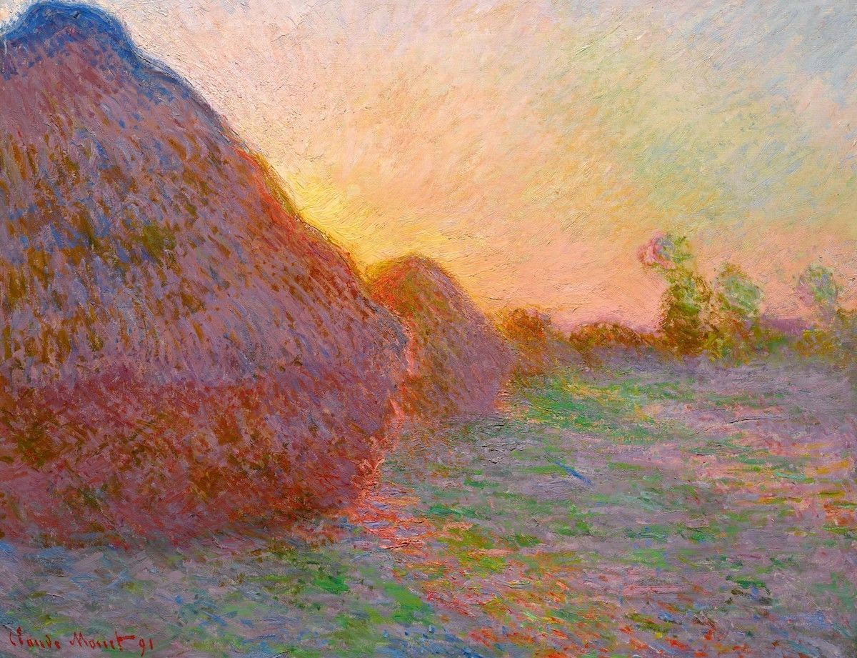 Claude Monet, 'Meules' (1890); Image: Courtesy of Sotheby's