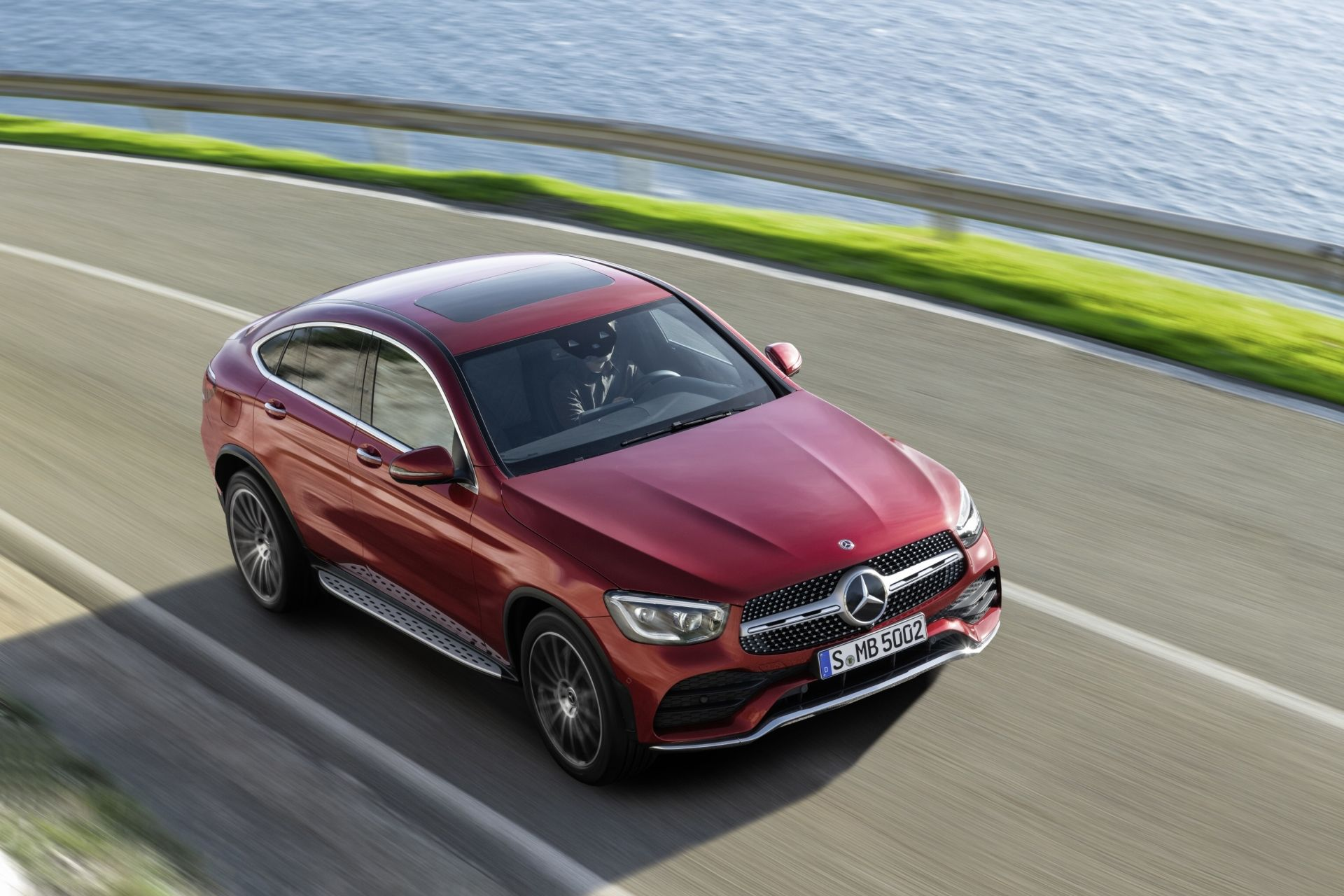 The Mercedes-Benz GLC Coupé Gets A Fresh Look And A New Line-Up Of Engines