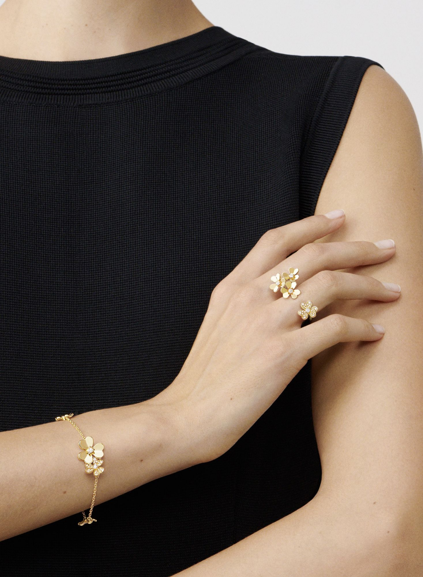 Van Cleef & Arpels Welcomes Spring With New Additions To Its Frivole Collection