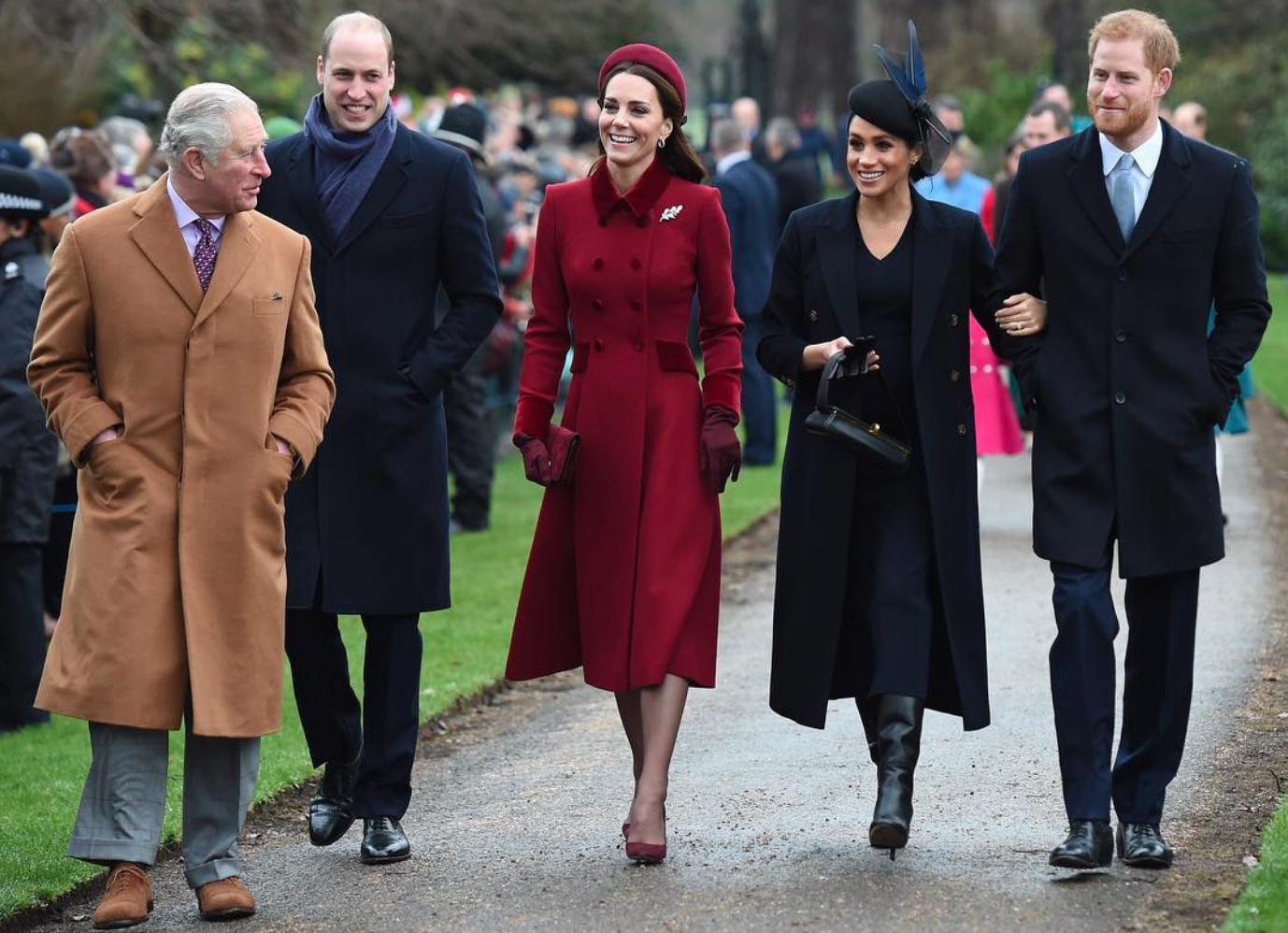 It's Instagram-Official: Prince Harry And Meghan Have Split From Prince William And Kate