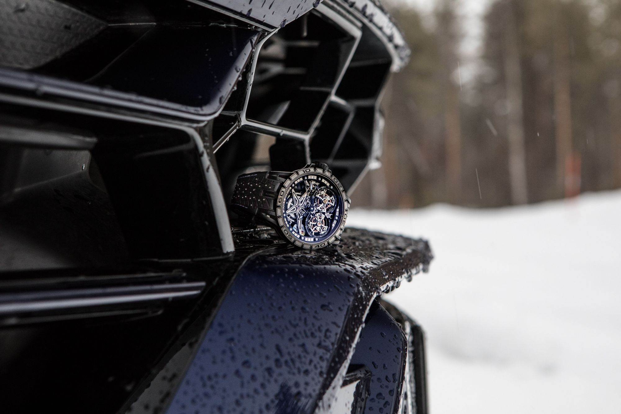 Roger Dubuis' Latest Collaboration With Pirelli Is The Coolest Yet