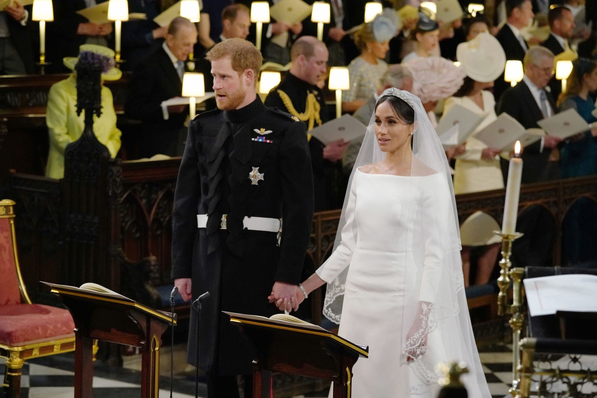 #Tatlergram: The Best Moments From Prince Harry And Meghan Markle's Wedding