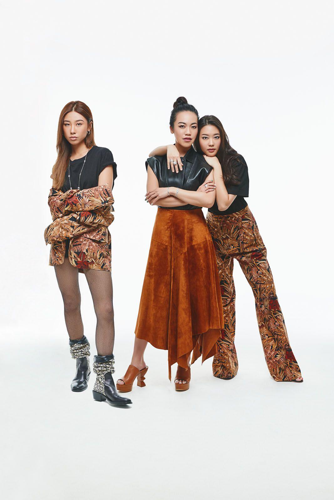Mae Tan, Carmen Ow, Rebecca Eu