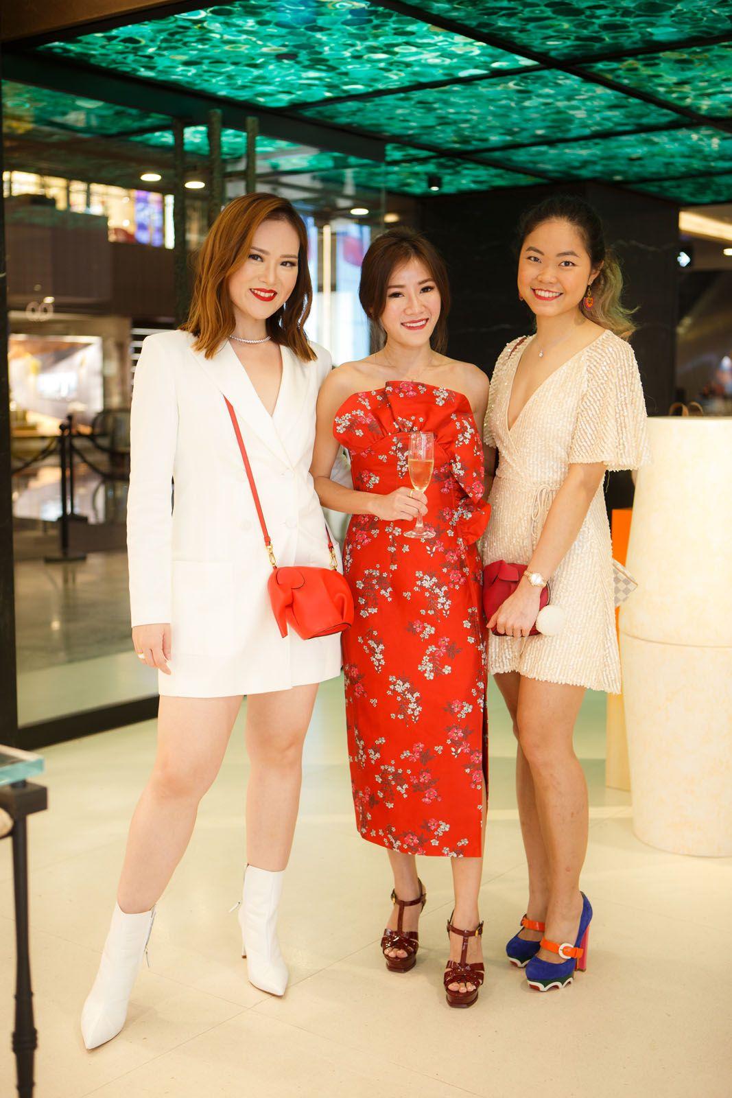 Sabrina Ho, Samantha Tay, Cheryl Cheong