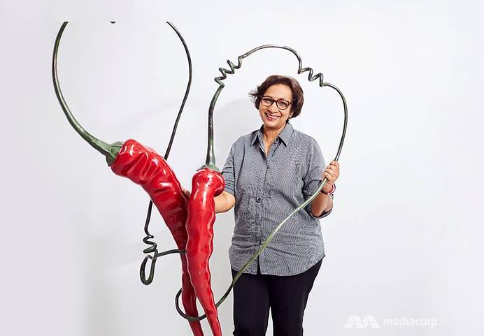 Meet Kumari Nahappan, The Singaporean Artist Who Likes Her Art Hot And Spicy