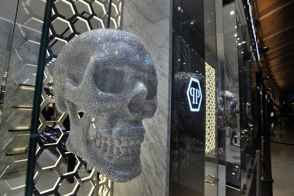 Philipp Plein's First Store In Southeast Asia