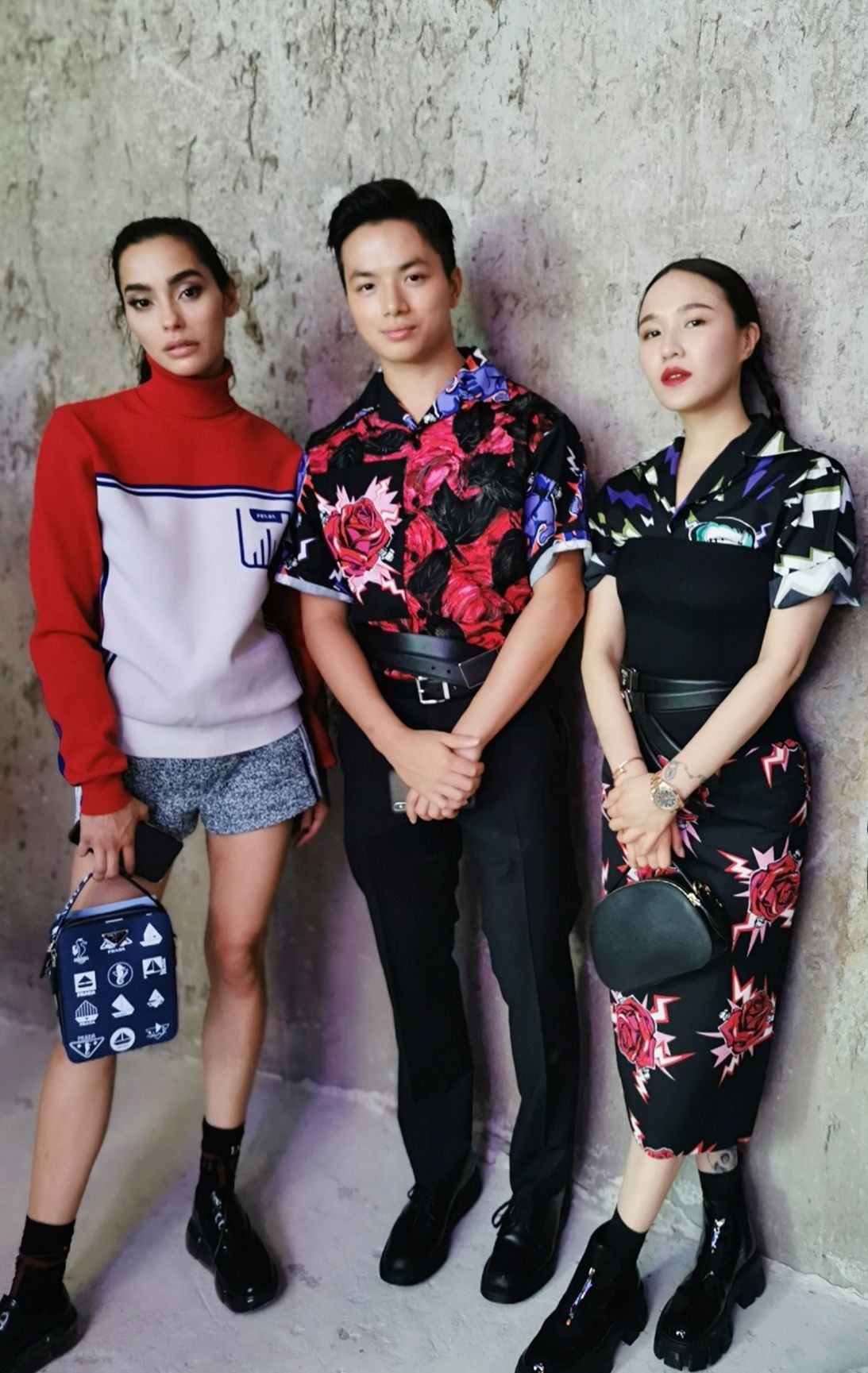 Pierre Ip And Dawn Koh's Fashion Diary At Prada's Spring/Summer 2020 Menswear Show