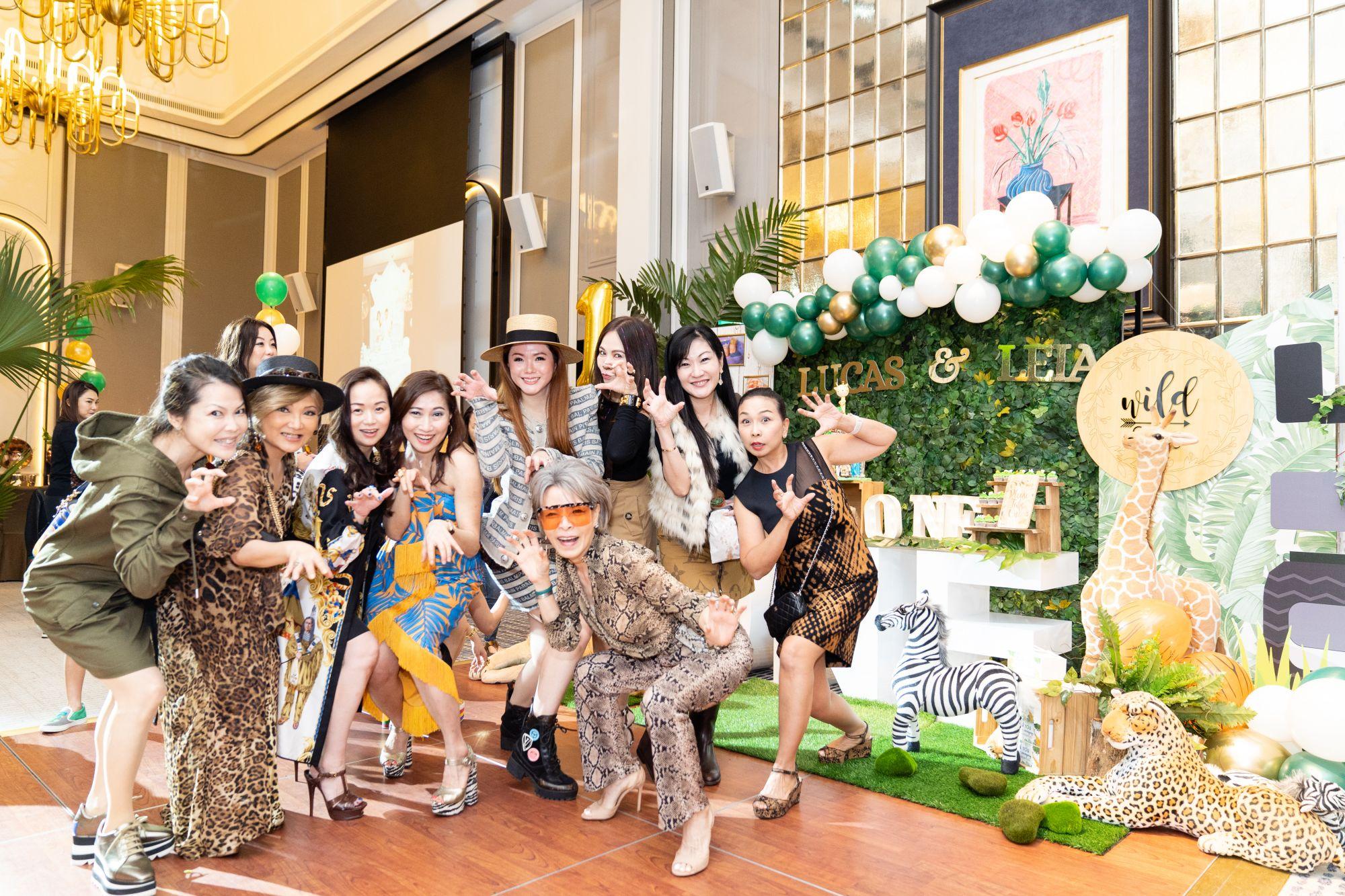 Kyoko Abe, Audrey Mico, Tonya Tan, Tan Khar Nai, Chermaine Pang, Grace Wong, Jacelyn Lai, Dawn Yip