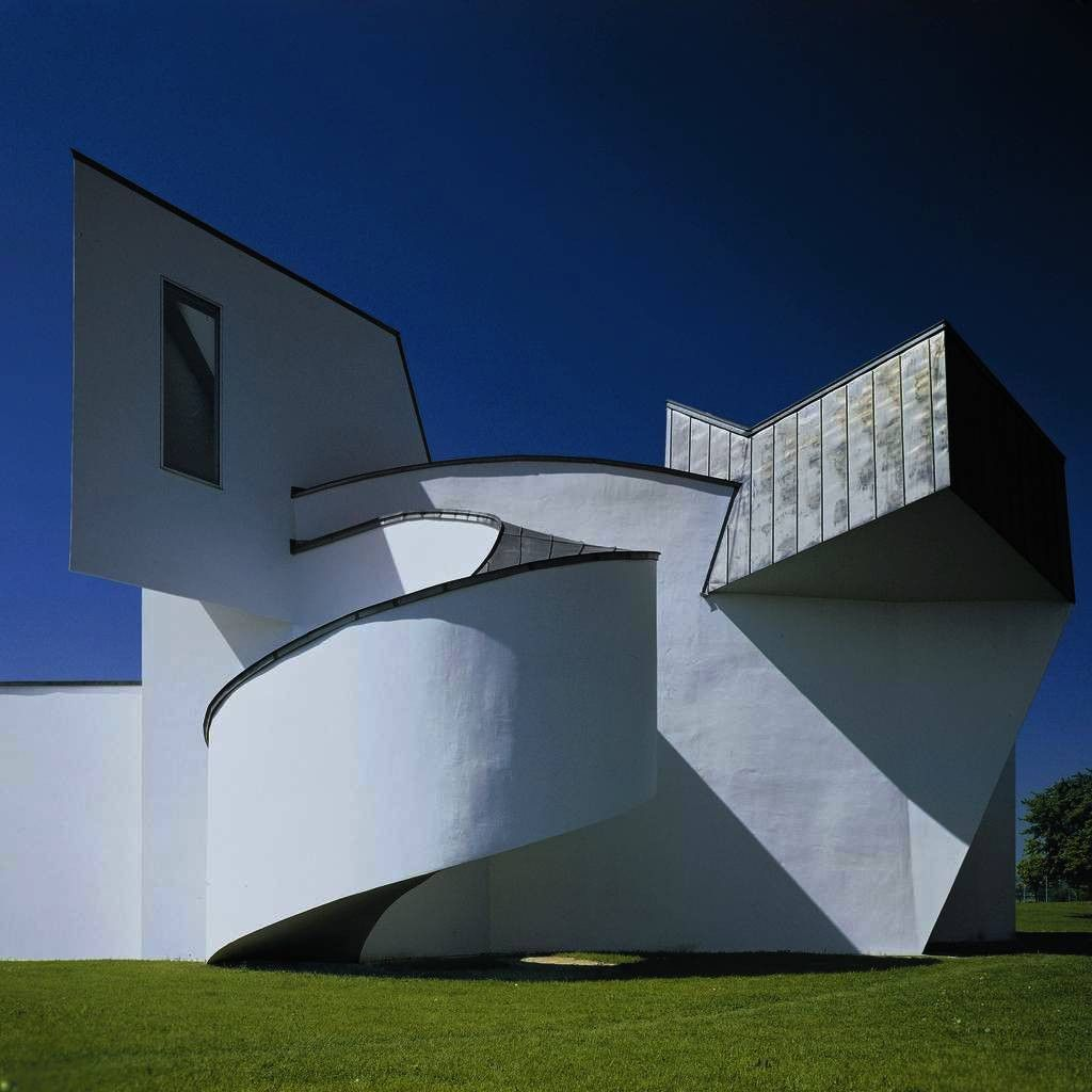 Vitra Design Museum, Frank Gehry, 1989; Image: Courtesy of Thomas Dix