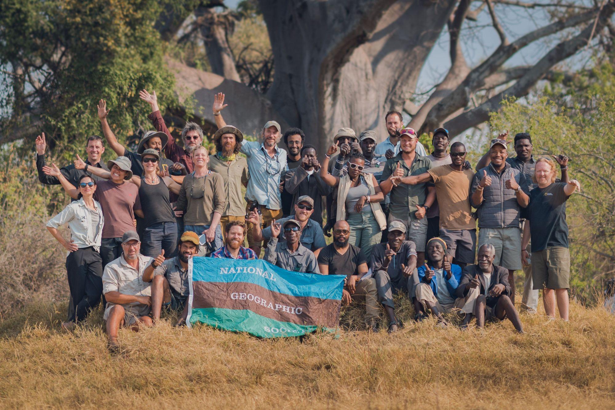 Okavango Wilderness Team Announced As Winner Of Rolex National Geographic Explorer of the Year 2019